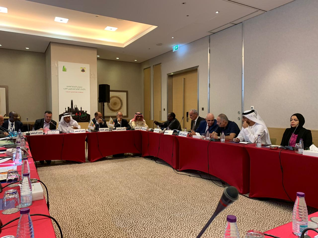 جمعية الصحفيين الإمارتية تشارك في اجتماع الأمانة العامة للصحفيين العرب بالرياض