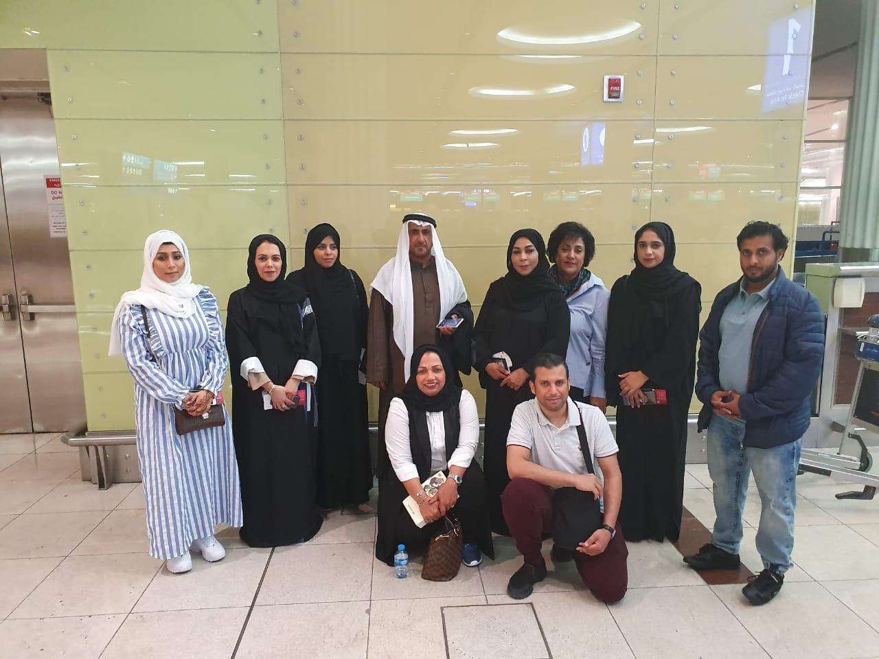وفد جمعية الصحفيين الاماراتية في زيارة للمؤسسات الصحفية والإعلامية بالقاهرة