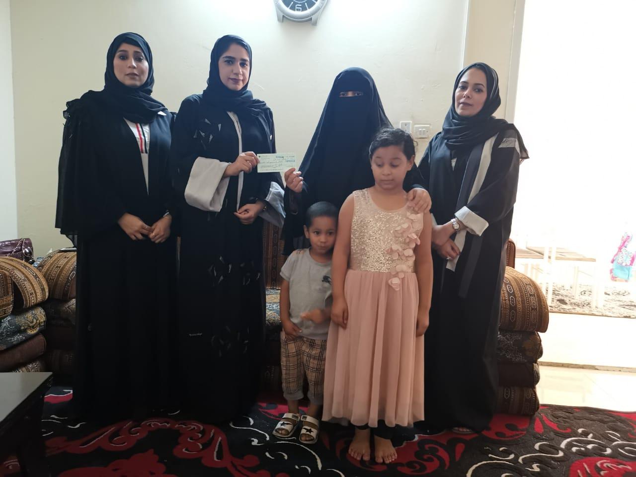 ضمن فعاليات عام التسامح لجنة تكافل الصحفيين في زيارة عائلية