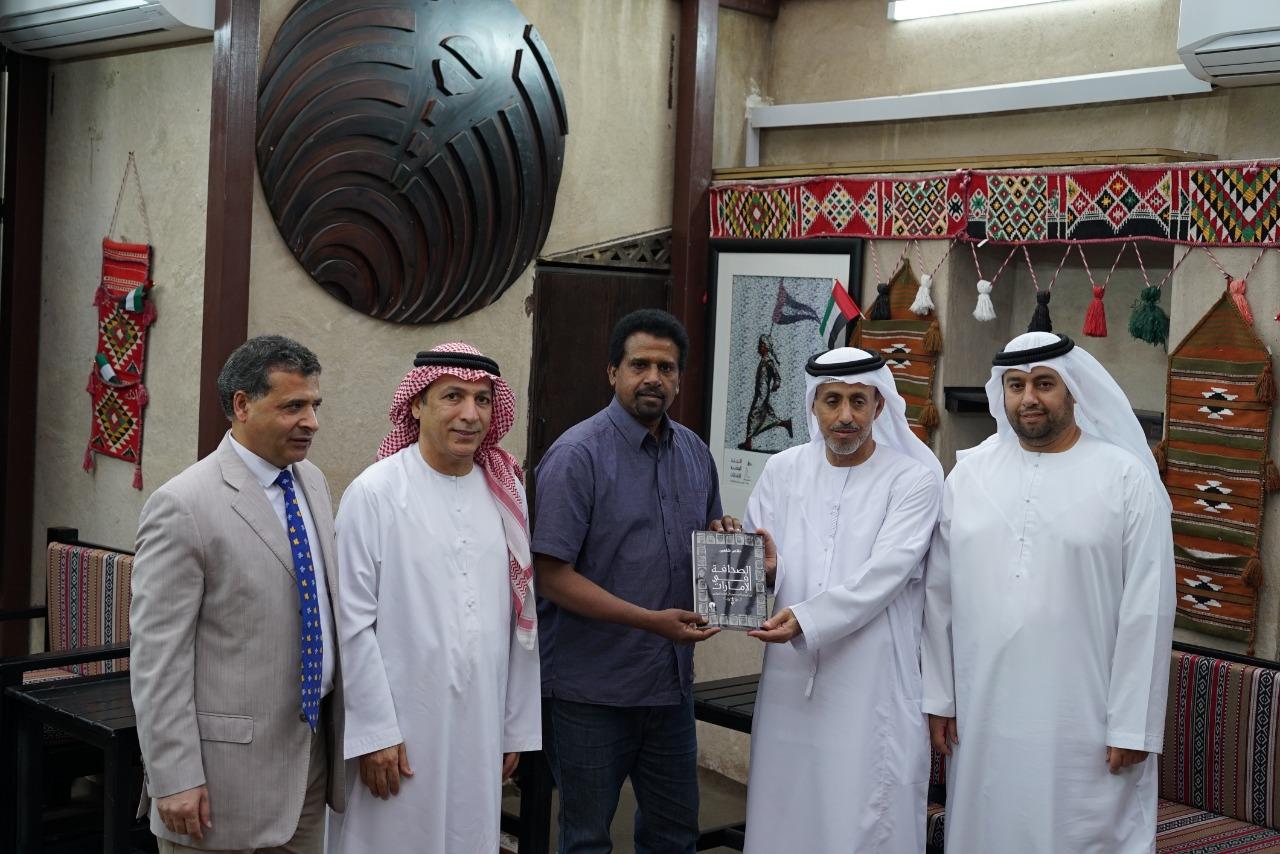 أمين عام جمعية الصحفيين العرب بأستراليا يزور مقر جمعية الصحفيين الإماراتية في دبي