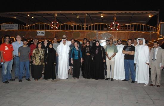 ورشة عمل مدونو الانترنت والصحافة في الخليج مايو 2009