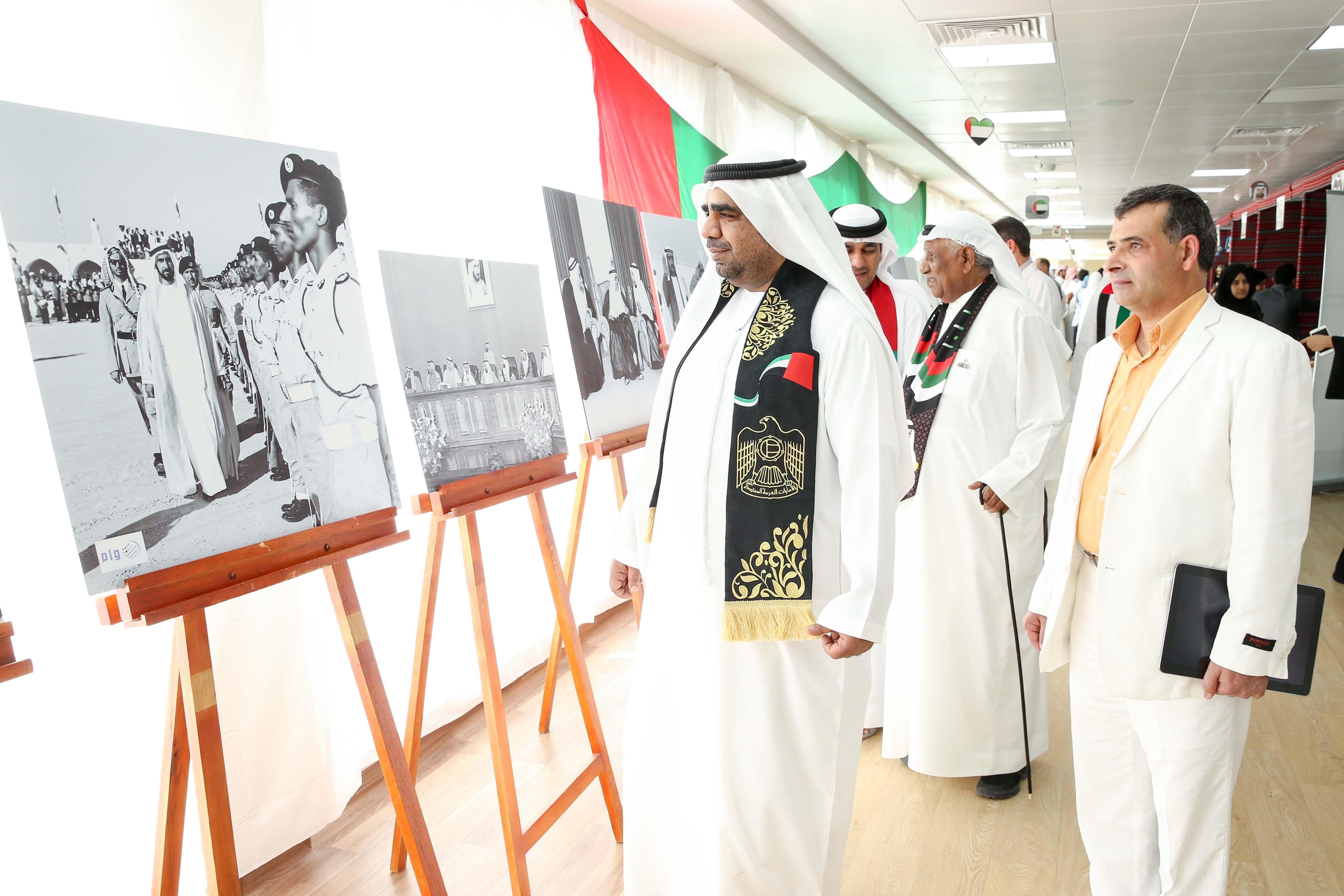 احتفالاً باليوم الوطني الــ 45 جمعية الصحفيين تنظم معرضاً للصور الصحفية بمستشفى الفجيرة