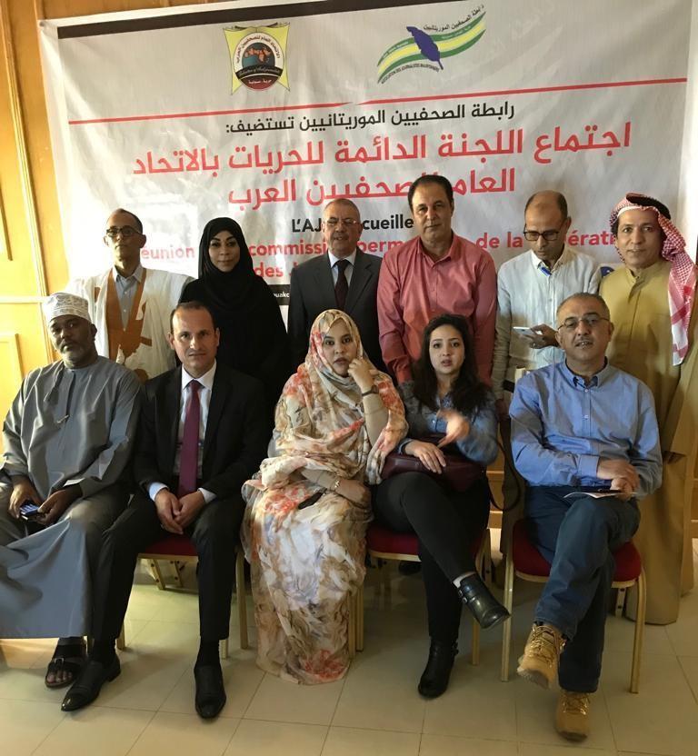 الإمارات تشارك في اجتماع اللجنة الدائمة للحريات الصحفية بالاتحاد العام للصحفيين العرب