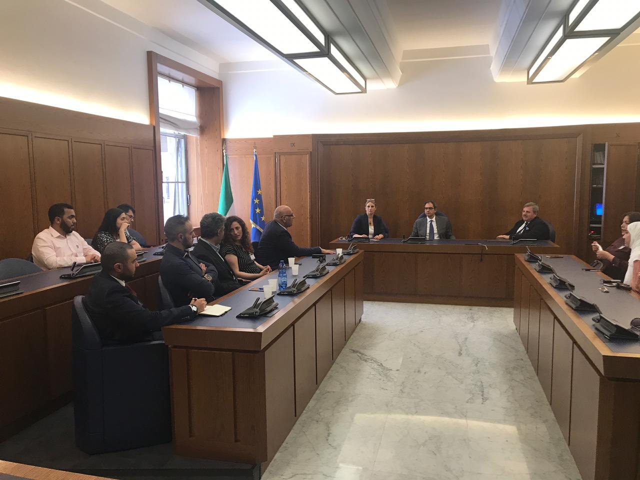 جمعية الصحفيين تشارك في دورة تدريبية عن «حقوق الإنسان» بإيطاليا