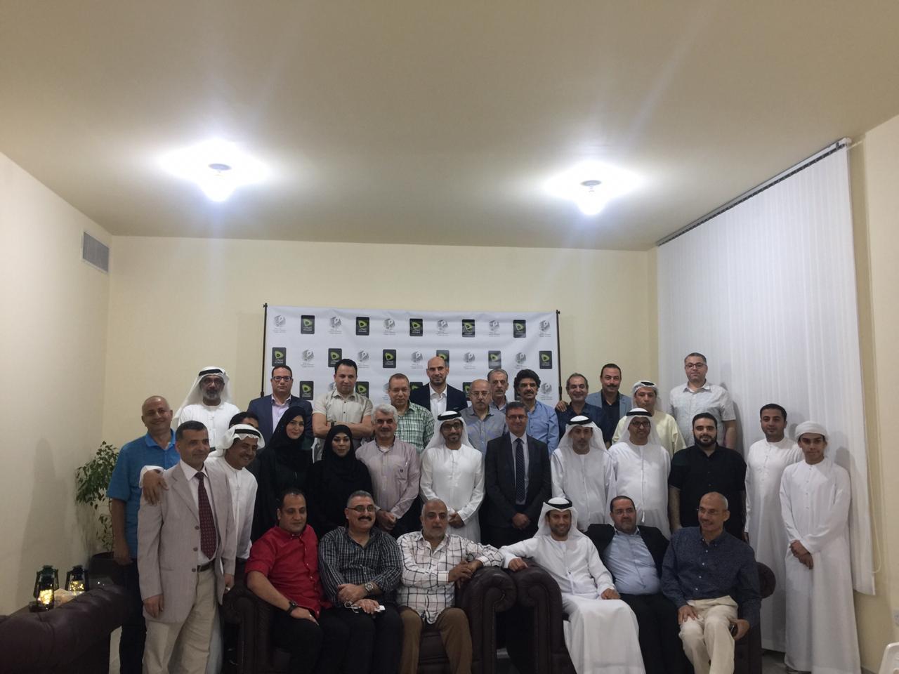 جمعية الصحفيين تنظم أمسية رمضانية بأبوظبي