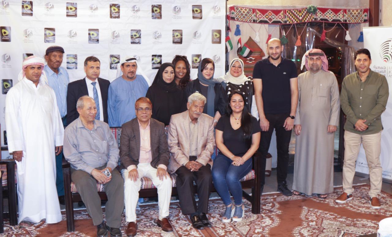جمعية الصحفيين الإماراتية تعقد أول مجلس شهري للصحبة الطيبة في بيت الكلمة بالفهيدي
